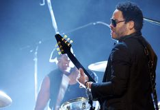 Lenny Kravitz Fotos de Stock Royalty Free