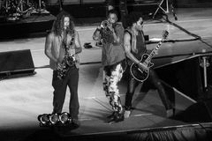 Lenny Kravitz- Not In This Lifetime 2016 USA Tour Royalty Free Stock Photo