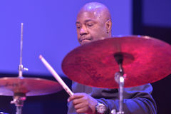 Lenny White during Sib Jazz Fest Stock Image