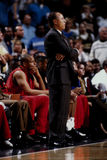 Lenny Wilkens, λεωφορείο των Atlanta Hawks Στοκ εικόνες με δικαίωμα ελεύθερης χρήσης