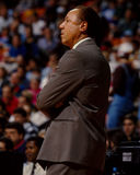 Lenny Wilkens, Atlanta Hawks coach. Royalty Free Stock Photography