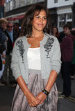 Lenora Crichlow. Arriving for the launch night of 'Julius Caesar' at the Noel Coward Theatre, London. 15/08/2012 Picture by: Alexandra Glen / Featureflash Stock Photo
