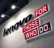 Lenovo logo Arkivbilder