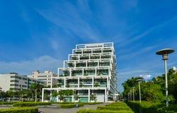 Lenovo R&D-byggnad royaltyfri fotografi