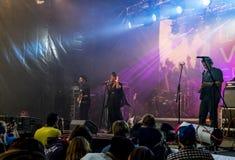 Lenovo vibe fest .Concert of Morchiba.Saint-Petersburg. 01 August 2015.St. Petersburg.Russia.Lenovo vibe fest.Concert of Morchiba Stock Images