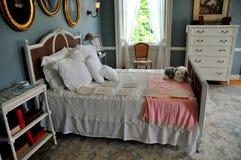 Lenox, mA: Edith Wharton Bedroom en el soporte Fotografía de archivo libre de regalías