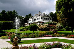 Lenox, MA: The Mount and French Garden Royalty Free Stock Photography