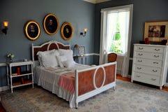Lenox, miliampère: Edith Wharton Bedroom na montagem Fotografia de Stock Royalty Free