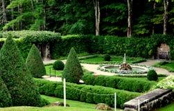 Lenox, miliampère: Jardim murado italiano na montagem Imagem de Stock Royalty Free