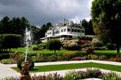 Lenox, miliampère: A montagem e o jardim francês Fotografia de Stock Royalty Free