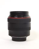 Lens. Isolated camera lens on white stock photos