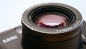 Lens. Close up of digital camera lens Stock Photo