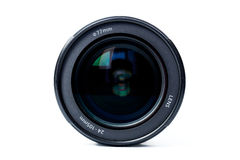 Lens. For the camera on a white background Royalty Free Stock Photography