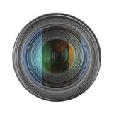 Lens. On a white background Royalty Free Stock Image