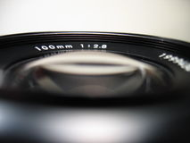 Lens. Close-up Royalty Free Stock Image