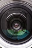 Lens. Electronic background, object. Lens of a camera Stock Photos