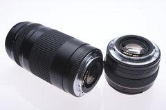 Lens. A pair of lens Royalty Free Stock Images