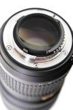 Lens. Bayonet of digital single-lens reflex camera objective Royalty Free Stock Images