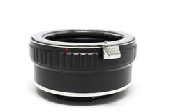 Lens adapter Royalty Free Stock Images