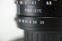 Lens angle Royalty Free Stock Photography