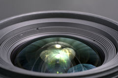 Lens av kameran Arkivbild