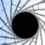 Lens background shutter Royalty Free Stock Image