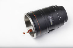 Lens body leaking blood Stock Photos