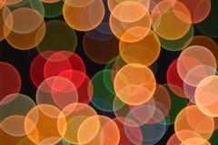 Lens bokeh background Stock Photos