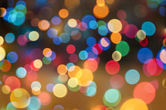 Lens bokeh background. A very colorful Lens bokeh background Royalty Free Stock Photography