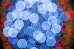 Lens bokehbakgrund Arkivfoto
