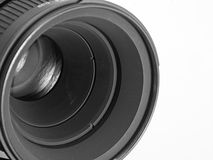 Lens of the camera Stock Photo