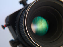 Lens of the camera Royalty Free Stock Photography