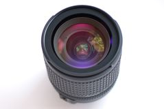 Lens camera Stock Photo