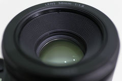 Lens. The Camera lens of closeup Royalty Free Stock Image