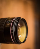 Lens for the camera closeup Royalty Free Stock Photos