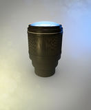 The lens Royalty Free Stock Image