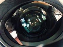 Lens. Camera reflections royalty free stock photography