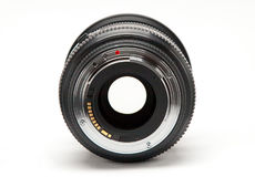 Lens without a camera on  white background Royalty Free Stock Photos