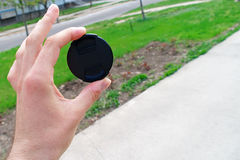 Lens cap Royalty Free Stock Photography