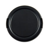 Lens Cap with Clipping Path Royalty Free Stock Photo