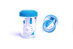 Lens cases Royalty Free Stock Photos
