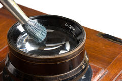 Lens cleaning brush Royalty Free Stock Photos