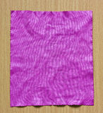 Lens cleaning cloth. Royalty Free Stock Images