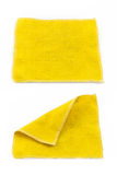Lens Cleaning Cloth isolated on white Royalty Free Stock Photos