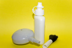 Lens cleaning kit royalty free stock images