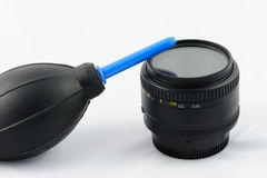 lens cleaning kit Stock Photos