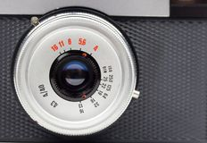 Lens close-up Royalty Free Stock Photography