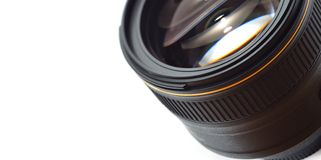 Lens close-up Royalty Free Stock Images