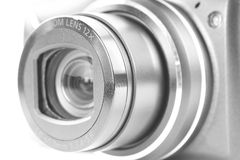 Lens close-up with blur Stock Photo