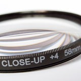 Lens close up for macro Royalty Free Stock Photo